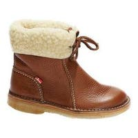 Duckfeet Arhus Shearling Lined Boot Granate Leather