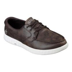 Men's Skechers On the GO Glide Harbor Boat Shoe Chocolate