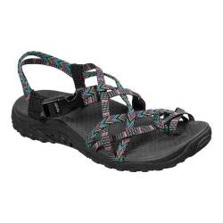 Women's Skechers Reggae Islander River Sandal Black/Multi