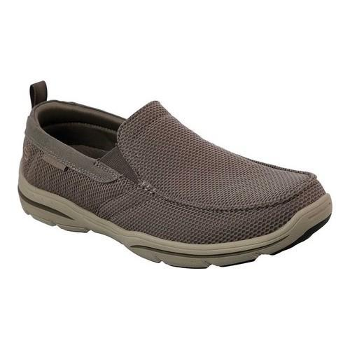 3c49d1175b1b Shop Men s Skechers Relaxed Fit Harper Walton Loafer Khaki - Free Shipping  Today - Overstock - 19981759