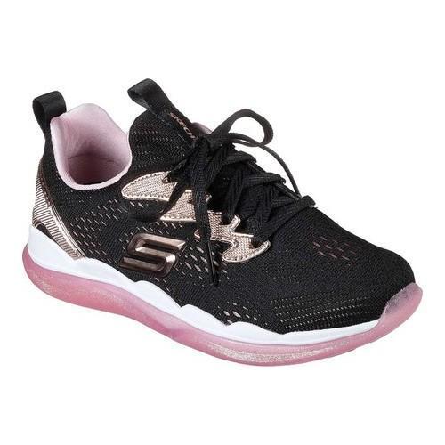 b33232a50d5 Thumbnail Girls  x27  Skechers Sparkle Racer Sneaker Black Rose Gold ...