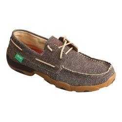 Men's Twisted X Boots MDM0064 Driving Moc Dust Canvas
