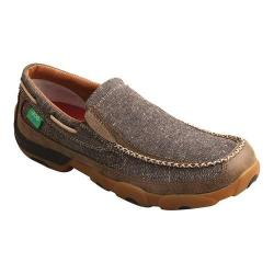 Men's Twisted X Boots MDMS012 Driving Moc Dust Canvas