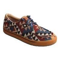 Men's Twisted X Boots MHYC006 Hooey Lopers Oxford Graphic Pattern Canvas