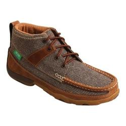 Women's Twisted X Boots WDM0094 Driving Moc Dust/Brown Canvas