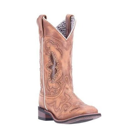 Women's Laredo Spellbound Cowgirl 5661 Tan Leather