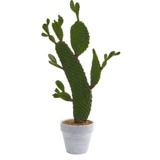 "27"" Cactus Artificial Plant"