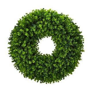 """25"""" Eucalyptus Artificial Wreath"""