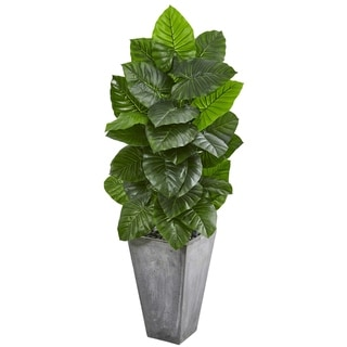 Nearly Natural 63-inch Taro Artificial Plant