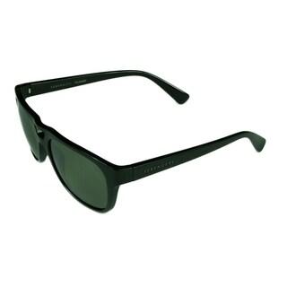 Serengeti Tommaso Men's Sunglasses Shiny Black w/ Polarized 555NM Lens