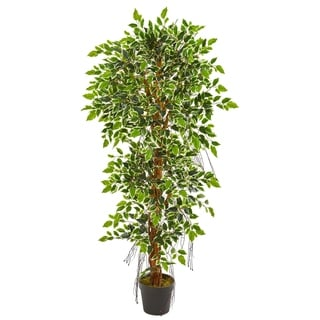 Nearly Natural 5-foot Elegant Ficus Artificial Tree