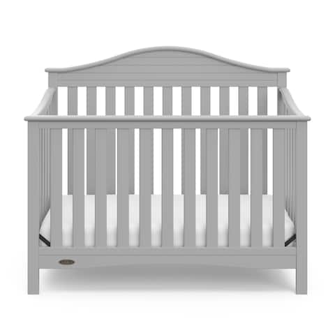 Graco Harbor Lights 4-in-1 Convertible Crib - Converts to Toddler Bed, Daybed, and Full-Size Bed with Headboard and Footboard