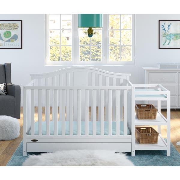 Shop Graco Solano 4-in-1 Convertible Crib and Changer with ...