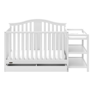 Solano 4-in-1 Convertible Crib and Changer with Drawer