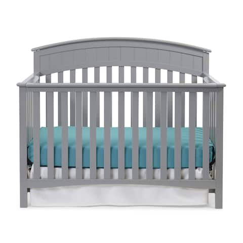 Graco Charleston 4-in-1 Convertible Crib - Converts to Toddler Bed, Daybed, and Full-Size Bed with Stylish Headboard