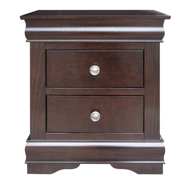 Ocala 2-Drawer Louis Philippe Nightstand by Greyson Living