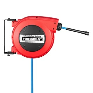 Link to Pentagon Tools 32ft Retractable Hose Reel Red Similar Items in As Is