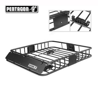Pentagon Tools Car Top Cargo Basket  Automobile Rack