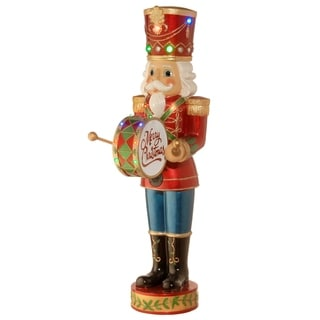"""60"""" Pre-Lit Animated & Music Playing Nutcracker Decoration"""