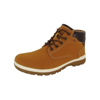 Link to Day Five Mens Casual Lace Up Ankle Work Boot Shoes, Yellow Similar Items in Women's Shoes