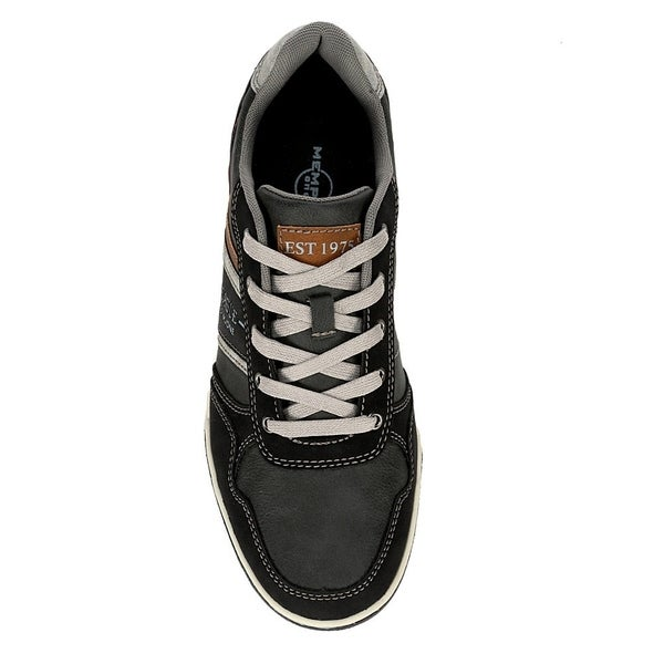 Shop Memphis One Mens Casual Lace Up Sneaker Shoes, Brown