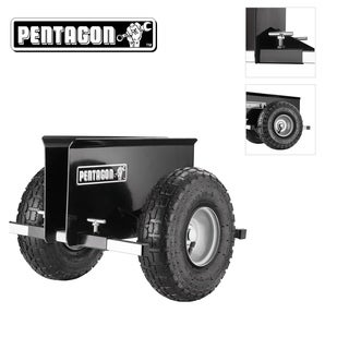 Pentagon Tool Panel Pusher Dolly Plywood - Doors - Drywall