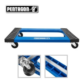 Pentagon Tool Mover Dolly Furniture - Appliances - Heavy Items Blue