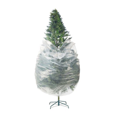 Elf Stor Premium Christmas Tree Poly Large Storage Bag 9' x 4' 7.5' Trees