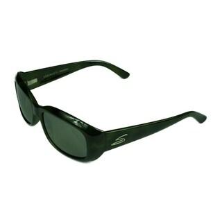 Serengeti Bianca Women's Sunglasses Vintage Green/Tort w/ Polarized 555NM Lens - Green