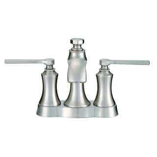 Danze Draper 2H Centerset Lavatory Faucet w/ Metal Pop-Up Drain 1.2 GPM D307028BN Brushed Nickel