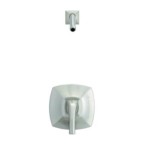 Gerber Vaughn 1H Shower Only Trim Kit & Treysta Cartridge Less Showerhead D500518LSBNTC Brushed Nickel - Brushed Nickel