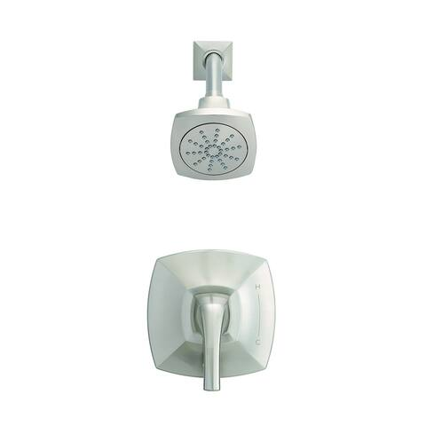 Gerber Vaughn 1H Shower Only Trim Kit & Treysta Cartridge 2.0 GPM D502518BNTC Brushed Nickel - Brushed Nickel