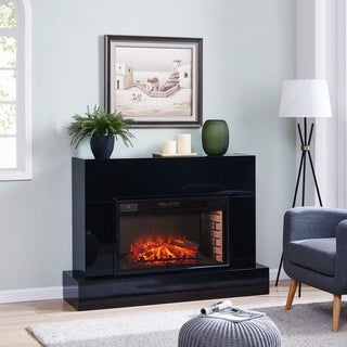 Mahdern Electric Fireplace TV Stand