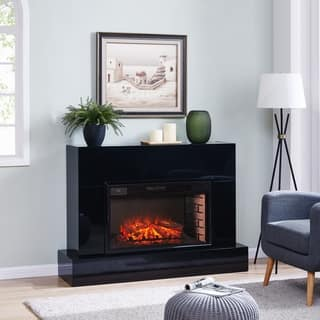Harper Blvd Mahdern Electric Fireplace TV Stand