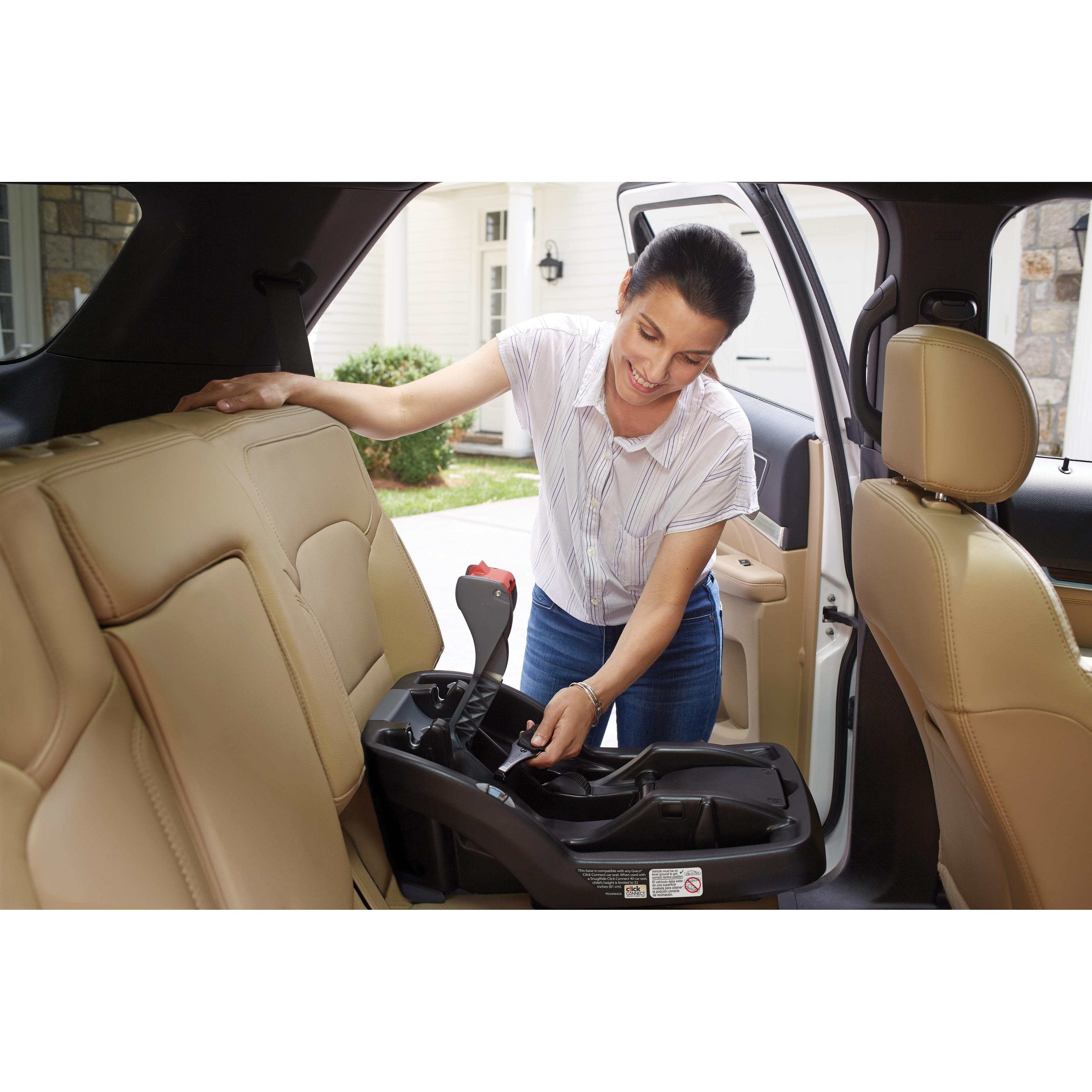 Peachy Graco Snugride Snuglock Infant Car Seat Base Black Alphanode Cool Chair Designs And Ideas Alphanodeonline