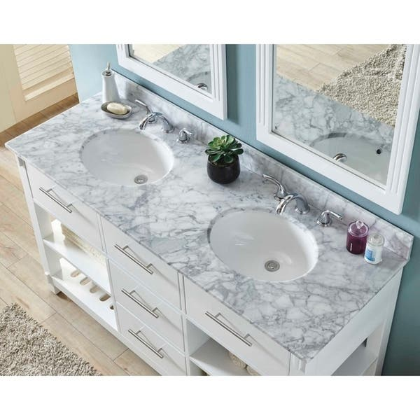 60 Inch Double Sink Bathroom Vanity