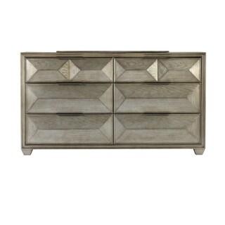 Global Furniture Usa Silver Soho Dresser