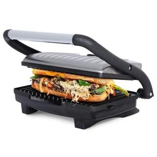 Brentwood TS-611 Compact Non-Stick Panini Grill & Sandwich Maker