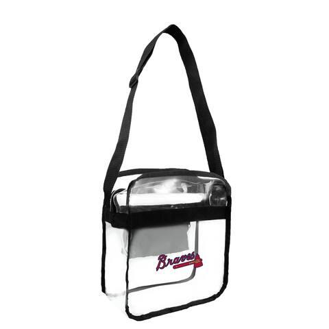 Atlanta Braves MLB Clear Carryall Cross Body Bag - Multi