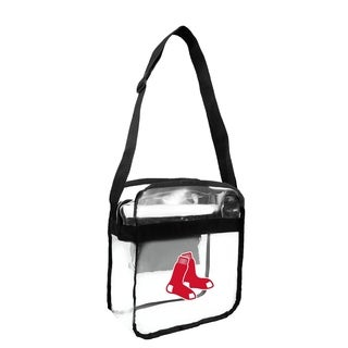 Boston Red Sox MLB Clear Carryall Cross Body Bag - Multi