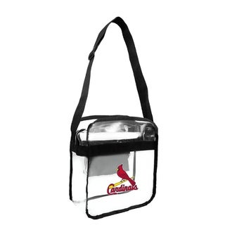 St. Louis Cardinals MLB Clear Carryall Cross Body Bag - Multi