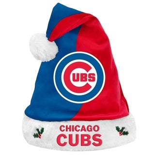 Chicago Cubs 17-inch Santa Hat - Multi