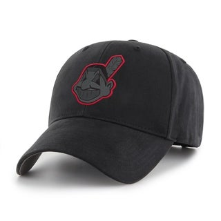 MLB Cleveland Indians Black Adjustable Cap - Multi