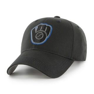 MLB Milwaukee Brewers Black Adjustable Cap - Multi