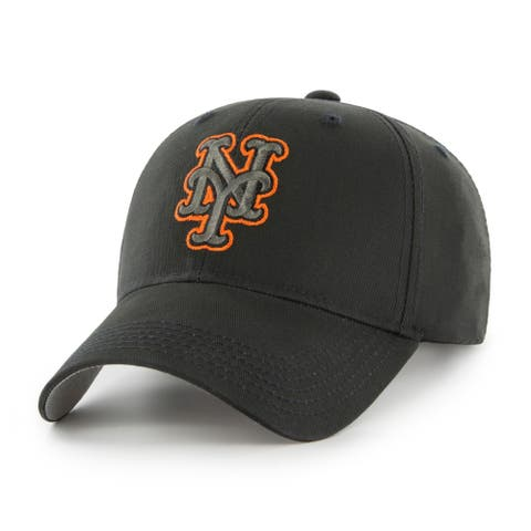 MLB New York Mets Black Adjustable Cap - Multi