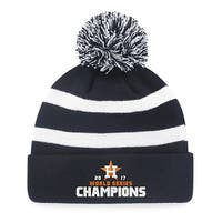 MLB World Series Champions Houston Astros Breakaway Knit Beanie with Pom - Multi