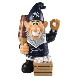 MLB New York Yankees Caricature Garden Gnome - Multi