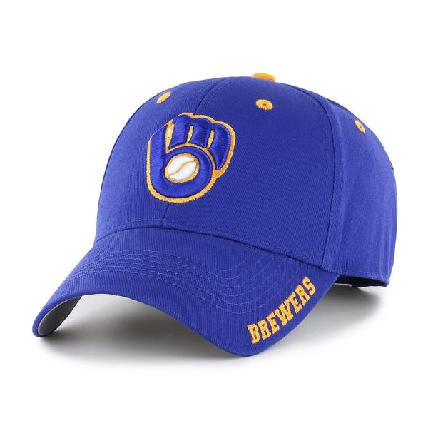 9dad630eec5ab Shop MLB Milwaukee Brewers Frost Adjustable Cap - Multi - Free ...