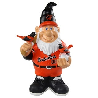 MLB Baltimore Orioles Caricature Garden Gnome - Multi