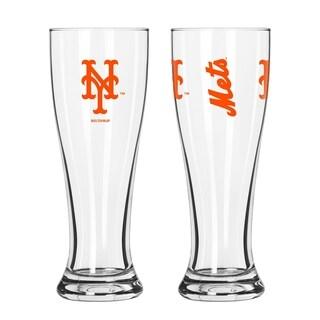 MLB New York Mets 2-Pack Gameday Pilsner Set - Multi